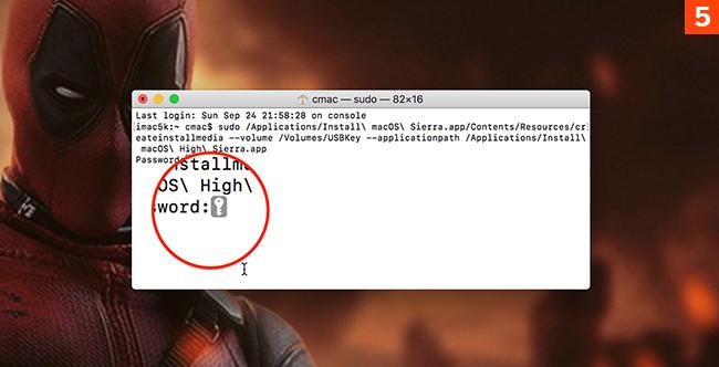 [Urgence] Comment créer une clé de démarrage pour macOS High Sierra?