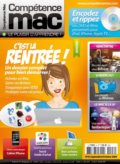 Compétence Mac 8, en kiosque le 28 août