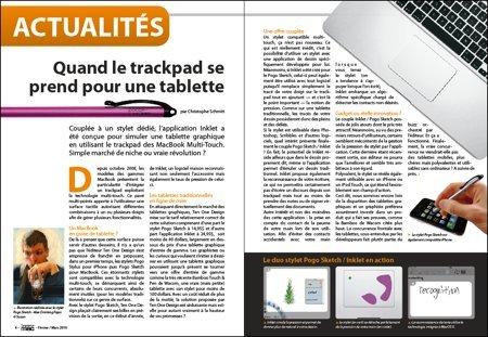 Découvrez pourquoi votre trackpad se prend pour un tablette.