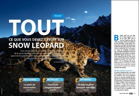 Dossier Snow Leopard : Nouveautés, achat et astuces.