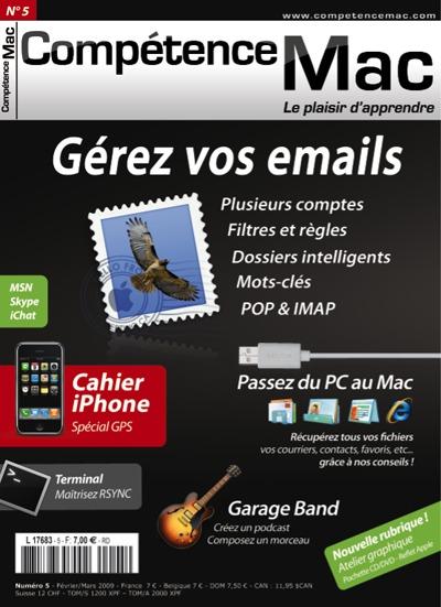 Compétence Mac 5, en kiosque le 31 janvier