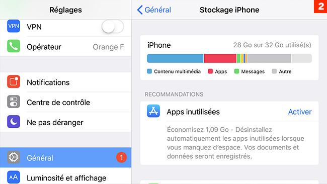 [iOS] 5 trucs pour optimiser l'espace sur votre iPhone/iPad ?