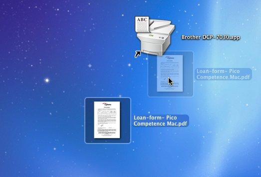 Finder • Imprimer directement sans ouvrir d'application
