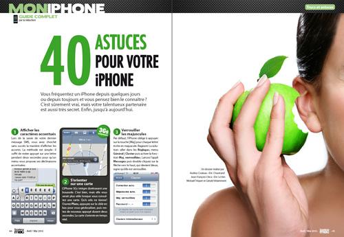 MON IPHONE • 40 astuces pour votre précieux