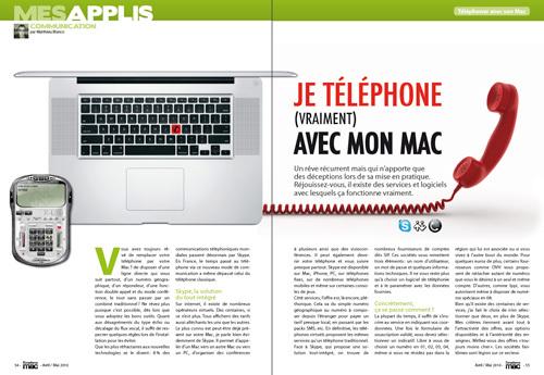 MES APPLIS • Je téléphone (vraiment) avec mon Mac