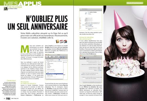 MES APPLIS • Notre méthode pour ne plus jamais oublier un seul anniversaire