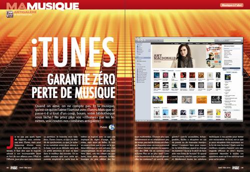 MA MUSIQUE • iTunes : garantie zéro perte de musique