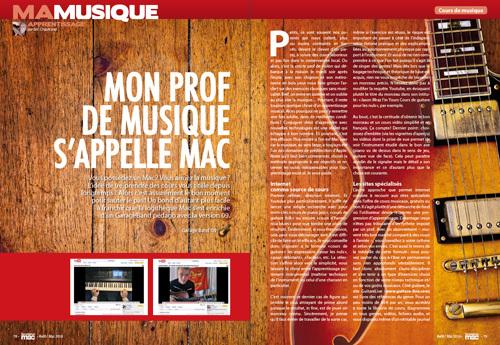 MA MUSIQUE • Mon prof de musique s'appelle Mac