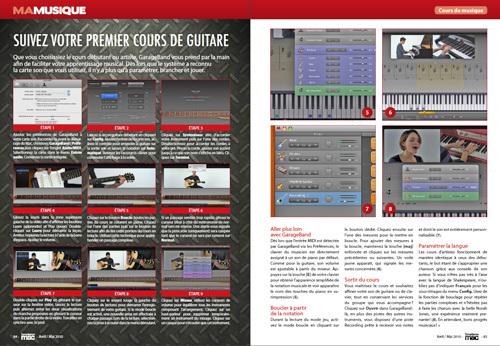 MA MUSIQUE • Des tutos détaillés pour apprendre la guitare ou le piano avec Garage Band