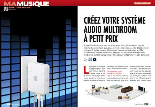 MA MUSIQUE • Créez votre système audio multiroom à petit prix