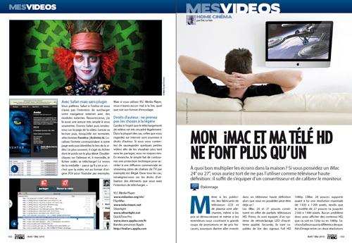 MES VIDEOS • Mon iMac et ma télé ne font plus qu'un