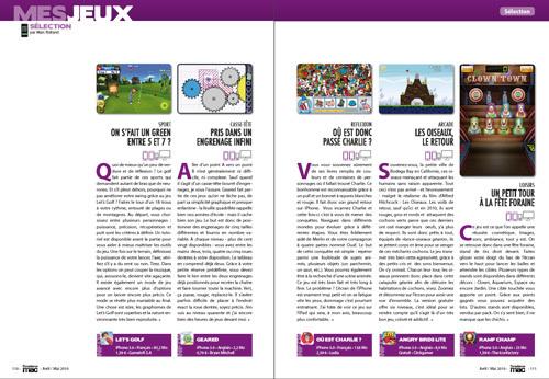MES JEUX • Notre sélection de jeux pour iPhone