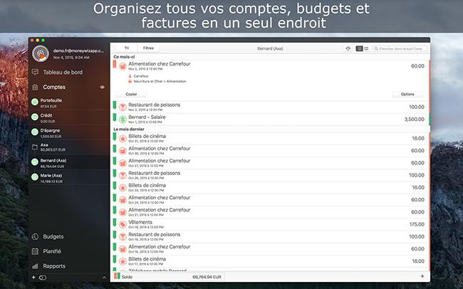 [Concours] Gagnez 10 licences de MoneyWiz 2 pour Mac pour gérer vos comptes, budgets et factures (terminé)