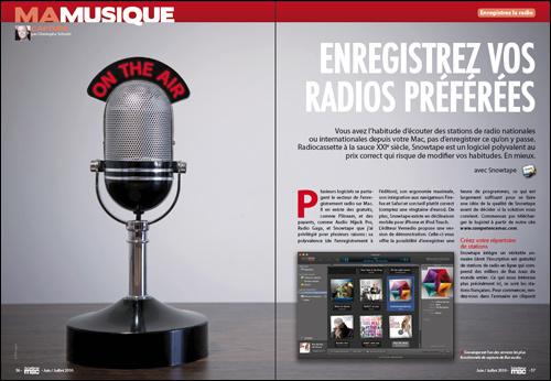 MA MUSIQUE • Enregistrez vos radios préférées