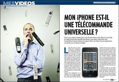 MES VIDEOS • Mon iPhone est-il une télécommande universelle ?