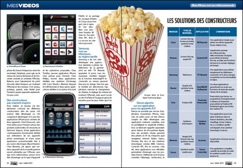 MES VIDEOS • Mon iPhone est-il une télécommande universelle ? • Comparatifs et solutions constructeurs