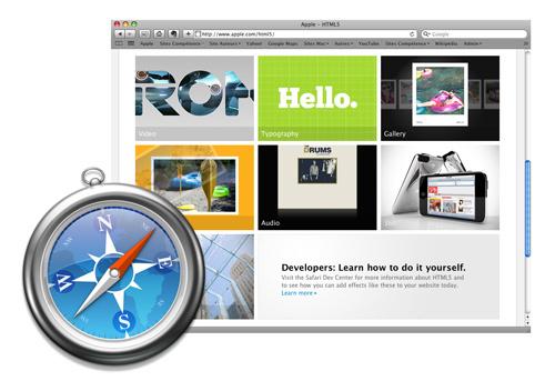 Safari 5 • Activer les extensions