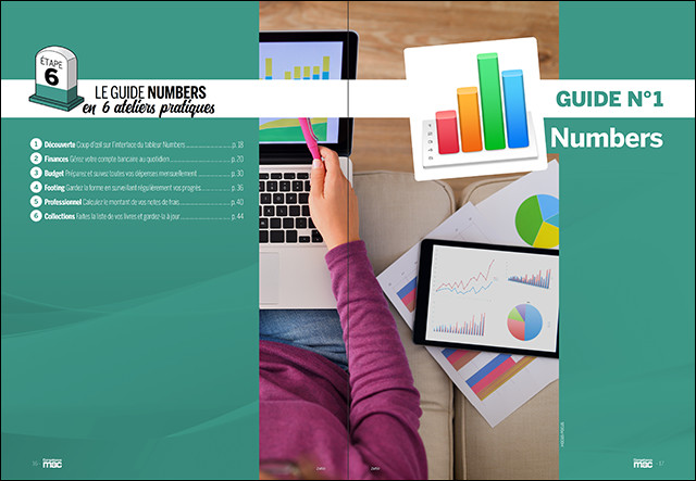"""Téléchargez les fichiers bonus du guide """"Ateliers pratiques avec Numbers"""" • Compétence Mac n°59"""
