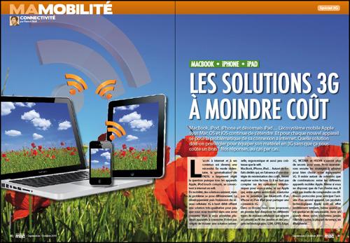 MA MOBILITÉ • DOSSIER • Les solutions 3G à moindre coût