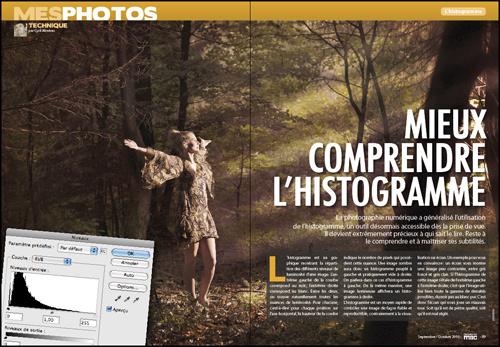 MES PHOTOS • Mieux comprendre l'histogramme