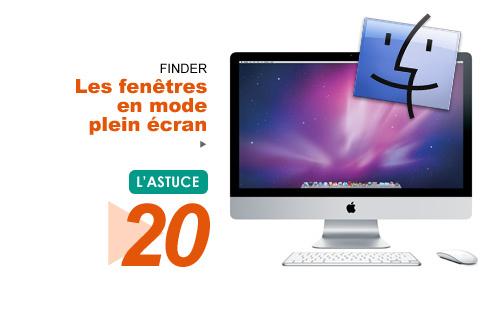 Finder les fen tres en mode plein cran for Plein ecran photo mac