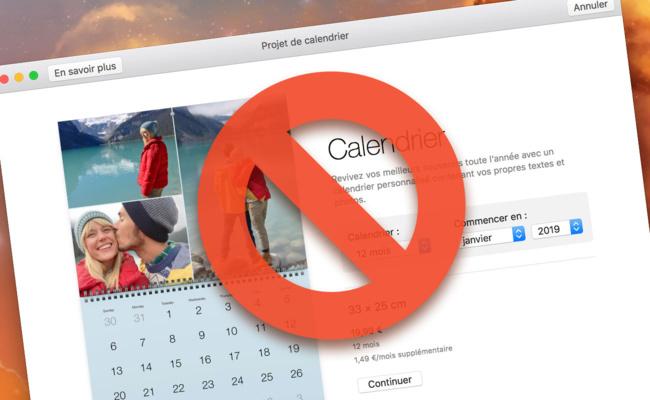 [Photos] Remplacez le service d'impression de projets avant le 30 septembre