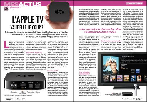 MES ACTUS • L'Apple TV en vaut-elle le coup ?