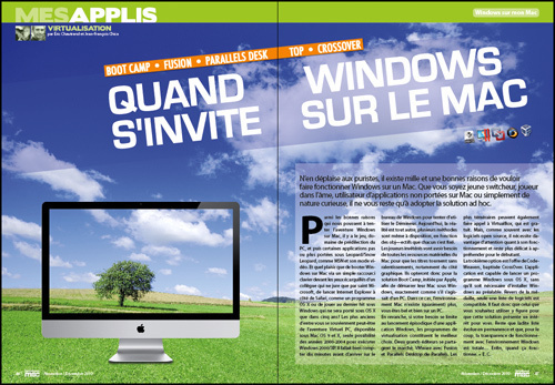 MES APPLIS • DOSSIER • Quand Windows s'invite sur le Mac