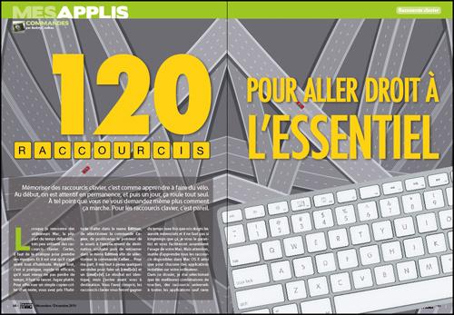 MES APPLIS • 120 raccourcis clavier pour aller droit à l'essentiel