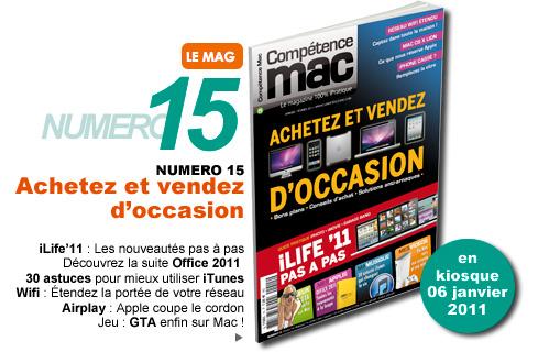 Compétence Mac 15, en kiosque le 06 janvier