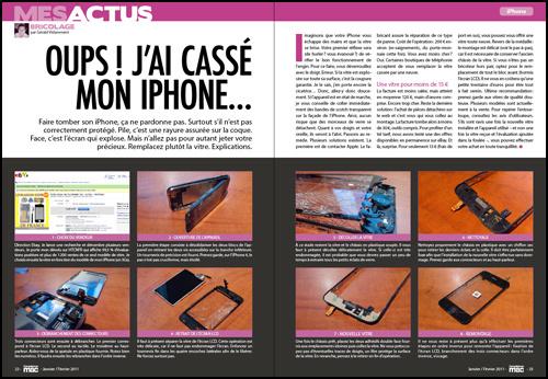 MES ACTUS • Oups ! J'ai cassé mon iPhone...