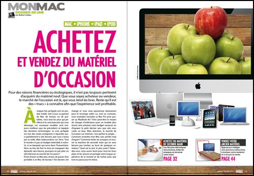 MON MAC • DOSSIER DE UNE • Achetez et vendez du matériel d'occasion