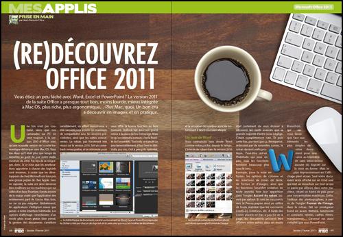 MES APPLIS • (re)Découvrez Office 2011