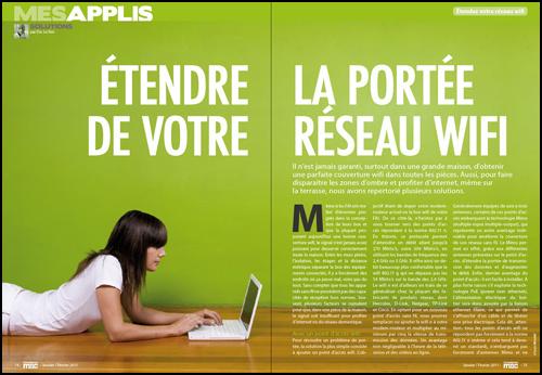 MES APPLIS • Étendre la portée de votre réseau Wifi