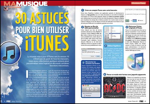 MA MUSIQUE • 30 astuces pour bien utiliser iTunes