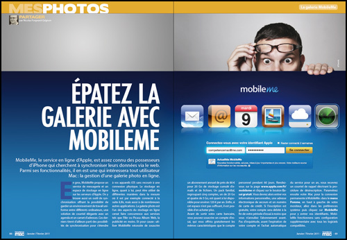 MES PHOTOS • Épatez la galerie avec MobileMe