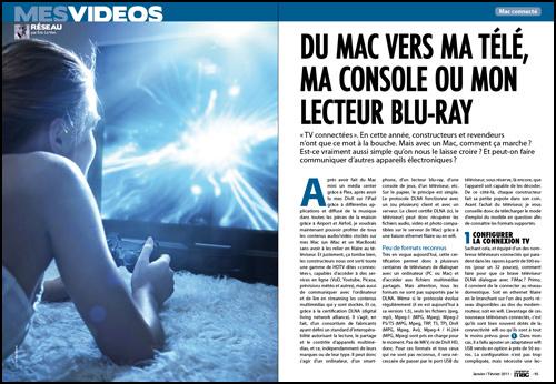 MES VIDEOS • Du Mac vers ma télé, ma console ou mon lecteur blu-ray