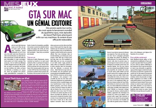 MES JEUX • GTA sur Mac, un génial exutoire