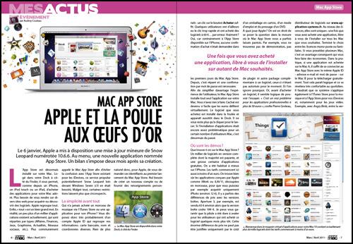 Mes actus • Mac App Store, Apple et la poule aux oeufs d'or