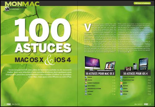 Dossier de Une • 100 astuces pour Mac OS X et iOS4