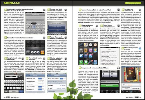 Dossier de Une • 50 astuces pour iOS4