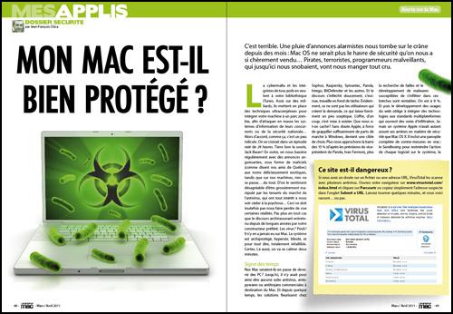 Dossier secondaire • Mon Mac est-il bien protégé ?