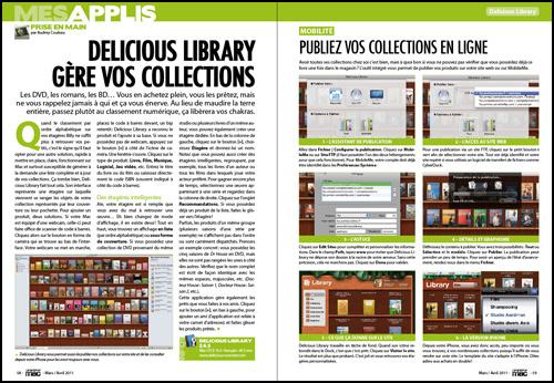 Mes applis • Prise en main : Delicious Library gère vos collections