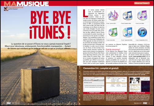 Ma musique • Bye bye iTunes !