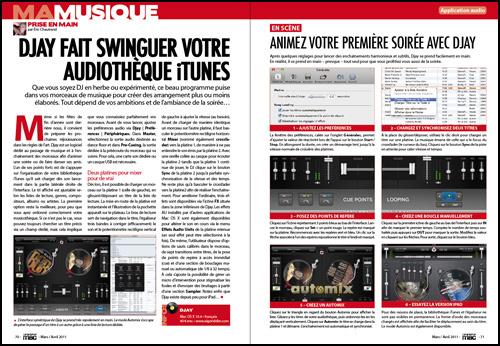 Ma musique • Prise en main : Djay fait swinguer votre audiothèque iTunes