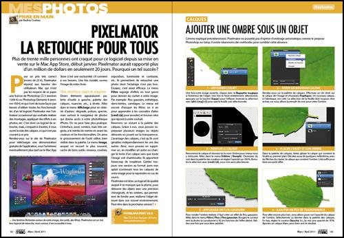 Mes photos • Prise en main : Pixelmator, la retouche pour tous