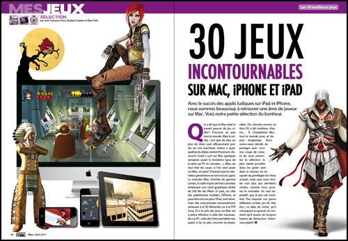 Mes jeux • 30 jeux incontournables sur Mac, iPhone et iPad