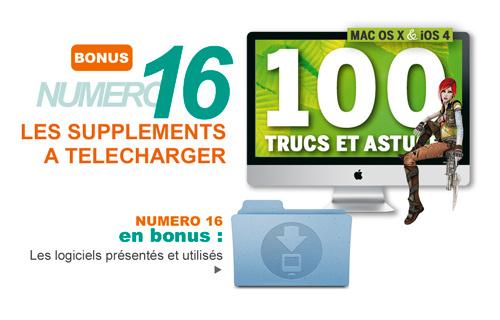Les suppléments du Compétence Mac 16