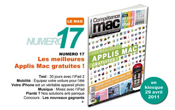 Compétence Mac 17, en kiosque le 29 avril