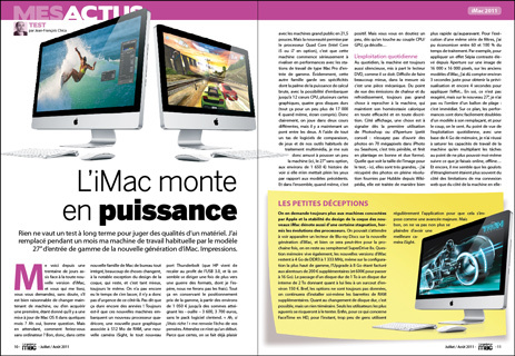 Compétence Mac 18, en kiosque le 01 juillet